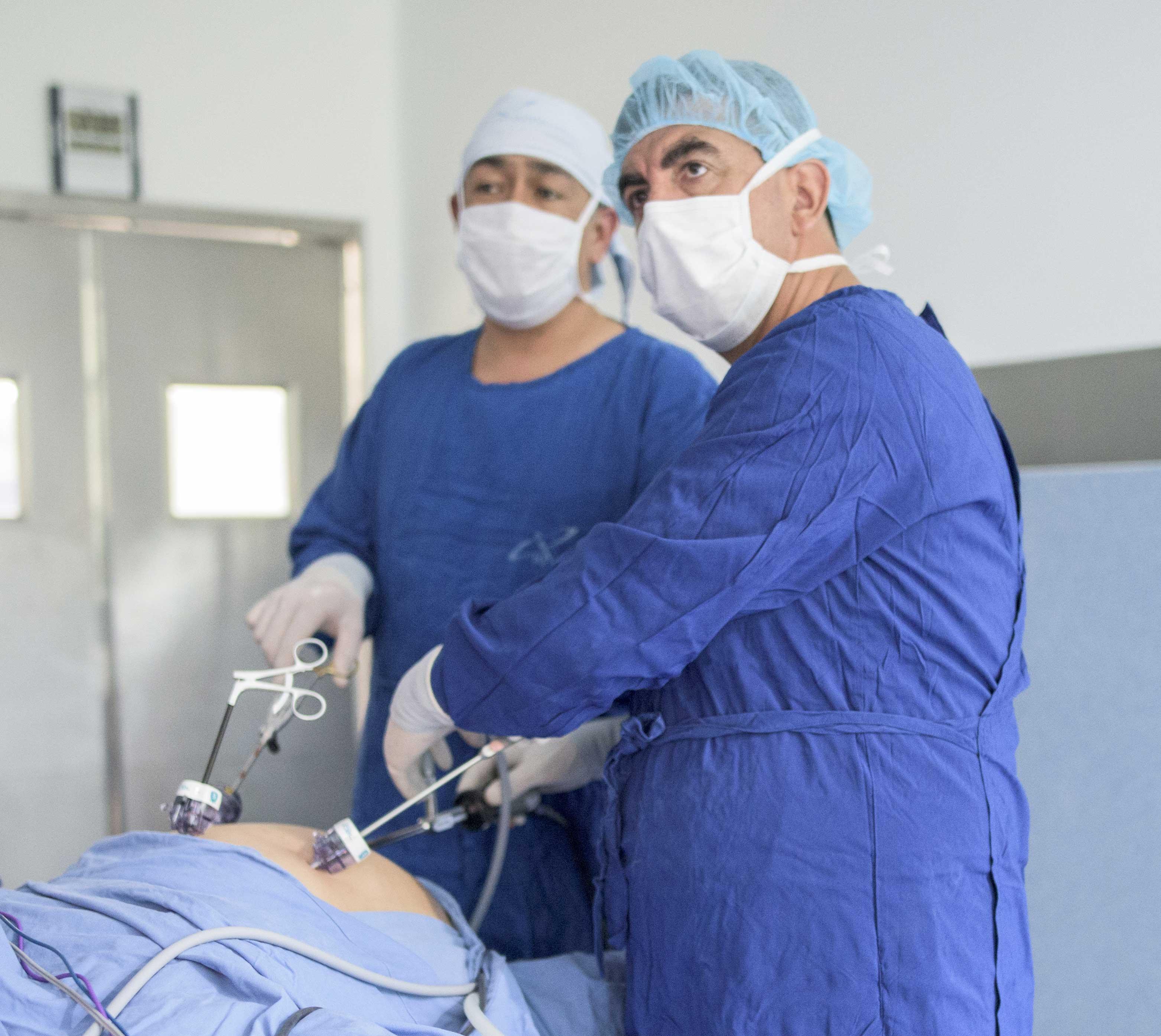 Cirugia laparoscópica